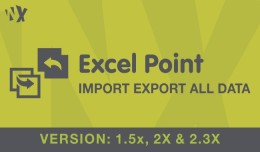 Excel Point - Import Export Tool -  (1.5x and 2.x)