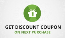 Get Discount Coupon on Next Purchase