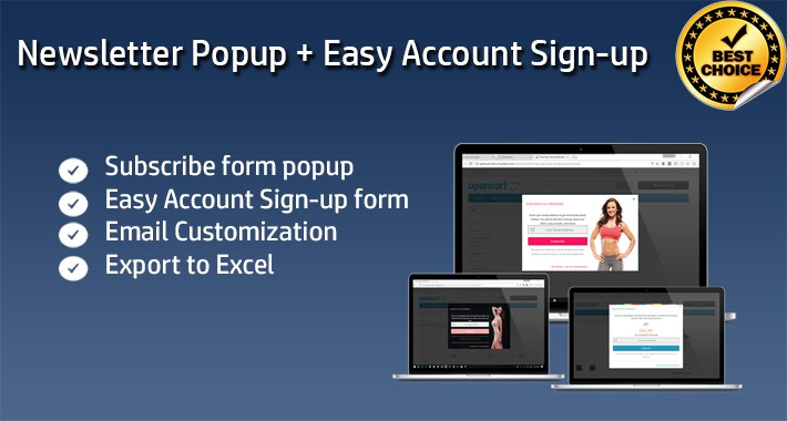 Multi-purpose Popup/block | Subscribe - Signup - Login Popup