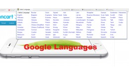 Google Languages OC3x