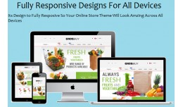 Opencart Grocery Store Template+ Android App