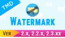 Opencart Add watermark To Product Image