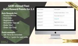 GGW vQmod Flexi Auto Reward Points Open  Cart  v..