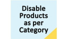 Bulk Disable Product by Category
