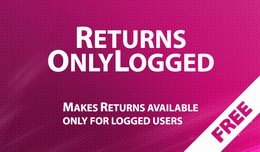 Returns OnlyLogged - makes Returns available onl..