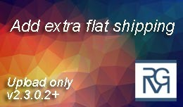 Add extra flat rate shipping