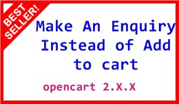 Make An Enquiry Instead of Add to cart Pro 2.X.X
