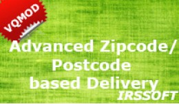 Advanced Zipcode/Postcode based Delivery VQMOD