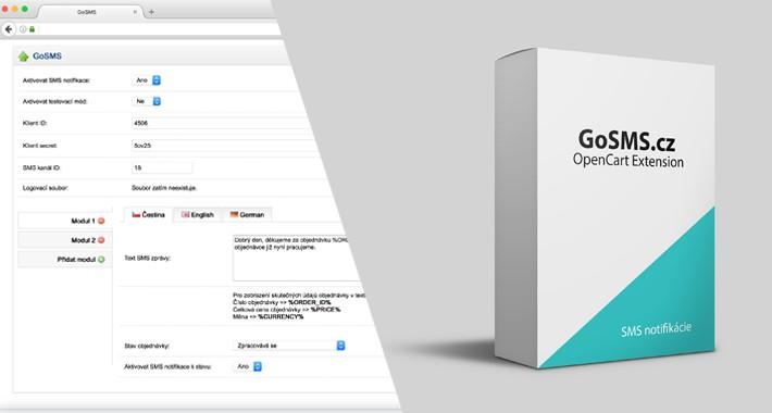 GoSMS.cz - SMS notifikácie