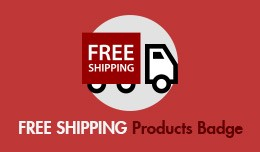 Free Shipping Products Badge