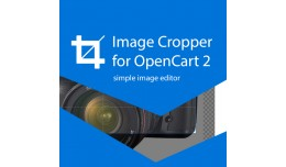 Image Cropper Opencart 2 | Simple Image Editor