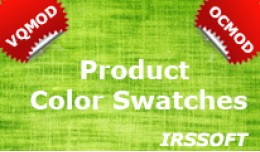 Product Color Swatches VQMOD / OCMOD