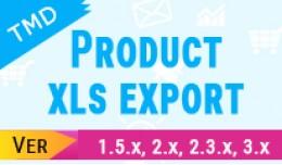opencart xls export (1.5x ,2.x & 3.x)