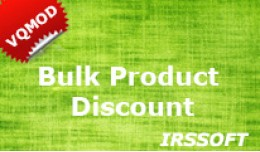 Bulk Product Discount(vqmod)