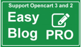 Blog system for OpenCart - Easy Blog Pro