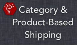 (2.x/3.x) Category & Product-Based Shipping