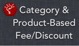 (2.x/3.x) Category & Product-Based Fee/Disco..