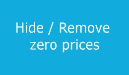 Hide zero prices