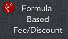 (2.x/3.x) Formula-Based Fee/Discount