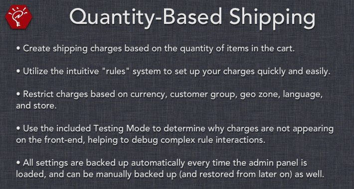 [OLD] Quantity-Based Shipping