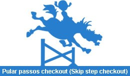 Pular passos checkout (Skip step checkout)