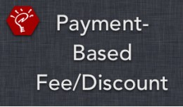 (2.x/3.x) Payment-Based Fee/Discount