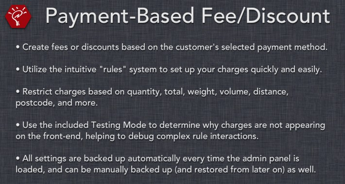 [OLD] Payment-Based Fee/Discount