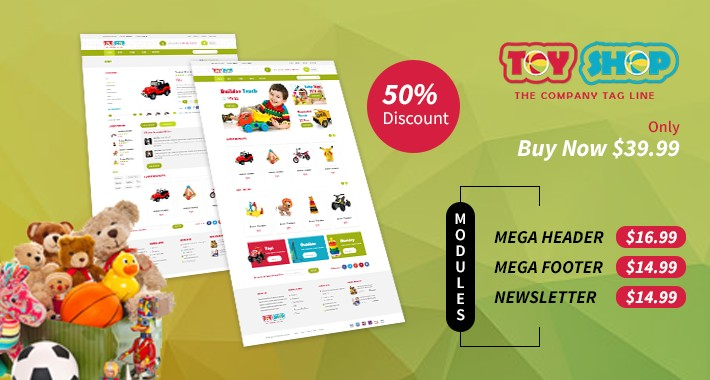 Toy- Responsive Opencart Theme