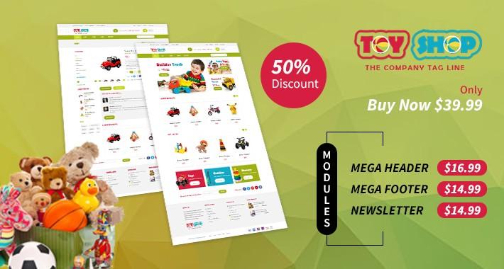 Toy- Responsive Opencart Theme