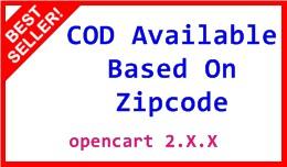 COD Available Based On Zipcode 2.X.X