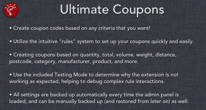 [OLD] Ultimate Coupons
