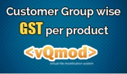 Customer Group wise GST per Product