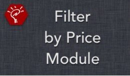(2.x/3.x) Filter by Price Module