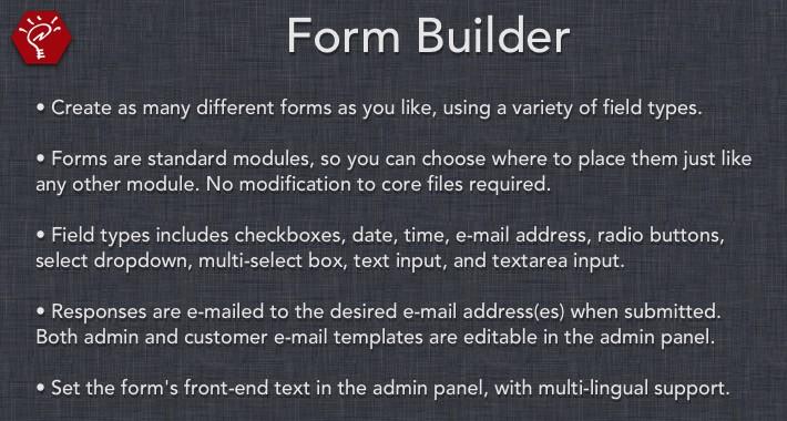 [OLD] Form Builder