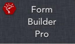 (2.x/3.x) Form Builder Pro