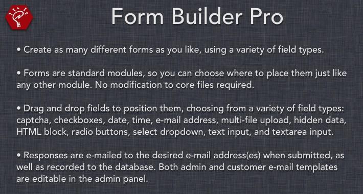 [OLD] Form Builder Pro