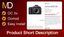 Product Short Description OC 3x
