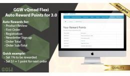 GGW vQmod Flexi Auto Reward Points Open Cart v3.0