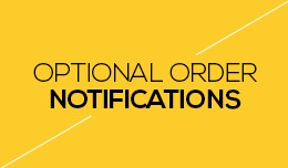 Optional Order Notifications