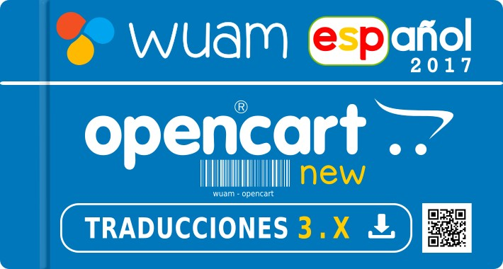 ✔ Spanish opencart 3.0.2.0 - 3.0.1.2 - 2.X  - Español