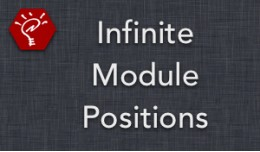 (2.x/3.x) Infinite Module Positions