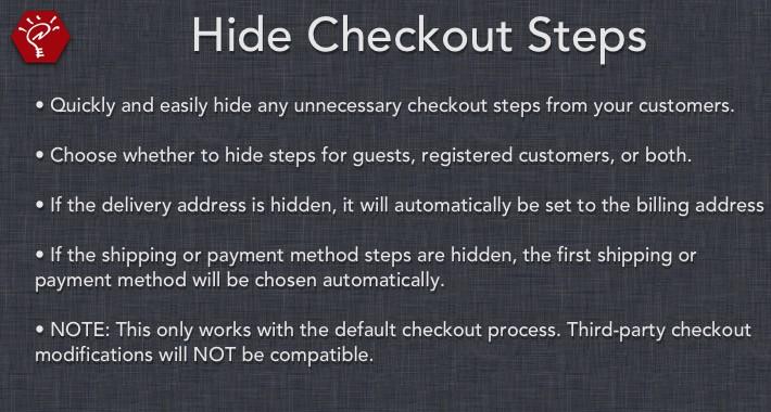[OLD] Hide Checkout Steps