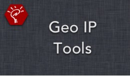 [OLD] Geo IP Tools