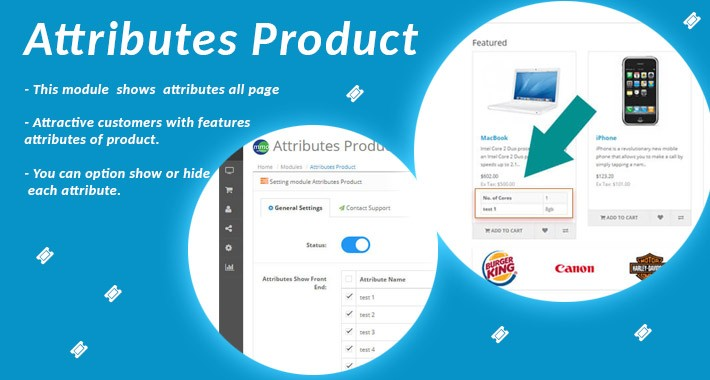 Attributes Product