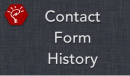(2.x/3.x) Contact Form History