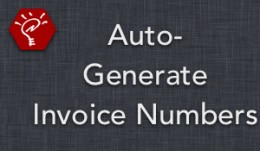 [OLD] Auto-Generate Invoice Numbers