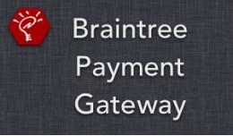 (2.x/3.x) Braintree Payment Gateway