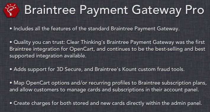 [OLD] Braintree Payment Gateway Pro