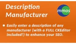 Description Manufacturer