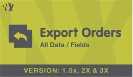 Export Order All data - OCMOD - VQMOD (1.5x, 2x ..